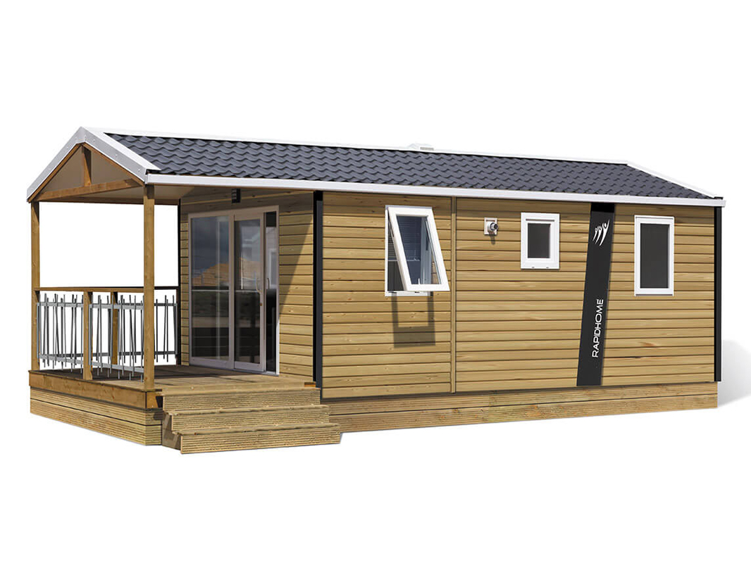 Mobil-home Terrasse couverte 2-4 people